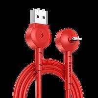 Кабель Baseus Lightning Maruko Video Cable 1m, Red (CALQX-09)