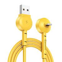 Кабель Baseus Lightning Maruko Video Cable 1m, Yellow (CALQX-0Y)