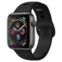 Ремінець Spigen для Apple Watch Series 5/4/3/2/1 40/38 mm Air Fit, Black (062MP25405)