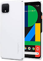 Чехол Spigen для Google Pixel 4 Thin Fit, White (F26CS27567)