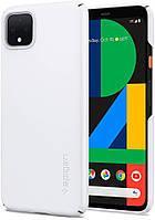 Чохол Spigen для Google Pixel 4 Thin Fit, White (F26CS27567)