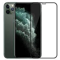 Защитное стекло Lion для iPhone 11 Pro\XS\X 3D Perfect Protection Full Glue, Black