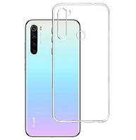 Чехол Ou Case для Xiaomi Redmi Note 8 Unique Skid Silicone, Transparent