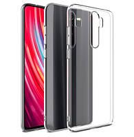 Чехол Ou Case для Xiaomi Redmi Note 8 Pro Unique Skid Silicone, Transparent