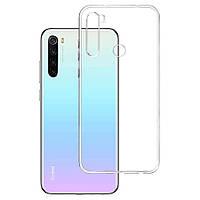 Чехол Ou Case для Xiaomi Redmi Note 8T Unique Skid Silicone, Transparent
