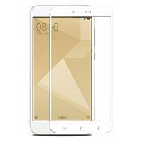 Защитное стекло 3D Perfect Protection Full Glue Lion для Xiaomi Redmi Note 4, White