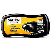 Губка пропитка SALTON для обуви из гладкой кожи, чёрная, фото 1