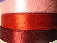 Лента атлас 1,2 см нежно-розовая. Заказ от 3 м