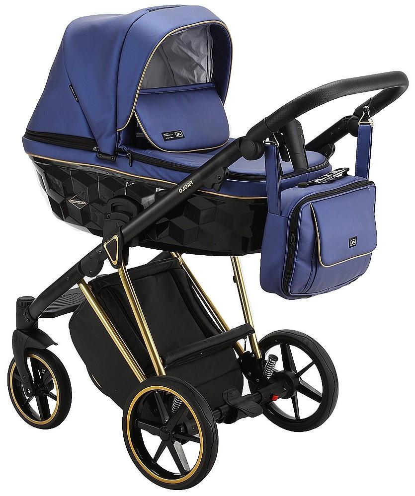 Дитяча універсальна коляска 2 в 1 Adamex Paolo SM-503
