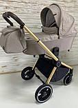Коляска универсальная 3в1 Carrello Epica + дождевик + чехол на ножки и сумка CRL-8511, фото 2