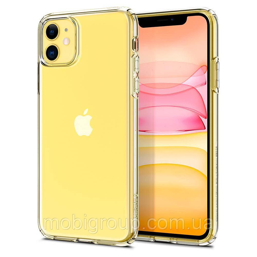 Чохол Spigen для iPhone 11 Liquid Crystal, Crystal Clear (076CS27179)