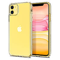 Чохол Spigen для iPhone 11 Liquid Crystal, Crystal Clear (076CS27179), фото 1