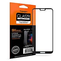 Защитное стекло Spigen для Huawei P20 Lite / nova 3e Full Cover, Black
