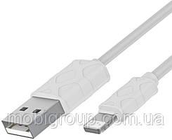 Кабель USB Baseus Yaven to Lightning 1м, White (CALUN-02)