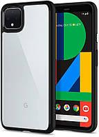 Чохол Spigen для Google Pixel 4 Hybrid Ultra - Black (F26CS27571)