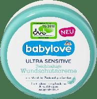 Детский защитный крем Babylove Ultra Sensitive Wundschutzcreme, 150 мл., фото 1