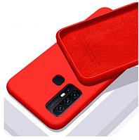 Чехол Silicone Case Full для Huawei P Smart 2020 Red