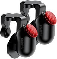 Игровой контроллер, триггер, Baseus для смартфона Red-Dot Mobile Game, Black (ACHDCJ-01)