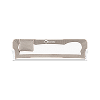 Защитный бортик для кровати Lionelo EVA BEIGE melange, Бежевый 150x42x35 см