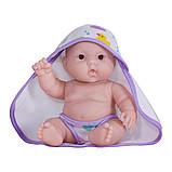 Пупс JC Toys Лулу с фиолетовым полотенцем 20 см, фото 3