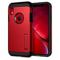 Чехол Spigen для iPhone XR Tough Armor, Red (064CS25338)
