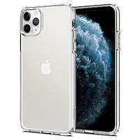 Чехол Spigen для iPhone 11 Pro Max Liquid Crystal, Crystal Clear (075CS27129)