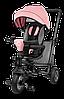 Детский трехколесный велосипед с родительской ручкой Lionelo TRIS CANDY ROSE/GREY