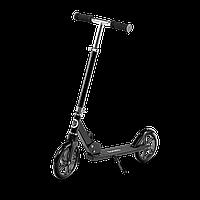 Детский самокат Lionelo Luca BLACK GRAPHITE, колеса 20 см, до 100 кг