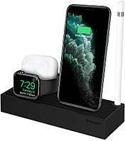 Подставка Spigen 3 in 1 Apple Devices Stand S318, Black (000MP25254)