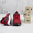 Модные кроссовки мужские повседневные красные BaaS Стильные мужские кроссовки baas Размер 41-46, фото 3