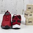 Модные кроссовки мужские повседневные красные BaaS Стильные мужские кроссовки baas Размер 41-46, фото 4