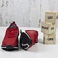 Модные кроссовки мужские повседневные красные BaaS Стильные мужские кроссовки baas Размер 41-46, фото 5