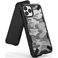 Чехол Ringke Fusion для iPhone 11 Pro Max, Camo Black (8809688891984)