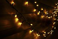 Светодиодная гирлянда String light (цепь) Flicker (мерцающая) 200 LED 10м