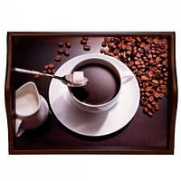 Lora Кухонный поднос на подушке «Coffee 4»