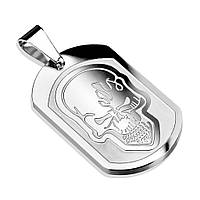 Медальйон із сталі «Черепа», фото 1