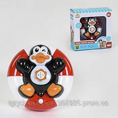 Пингвин - игрушка водоплавающая на батар, в кор. /72-2/