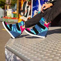 Женские ботинки,сникерсы на осень ЗАМШ