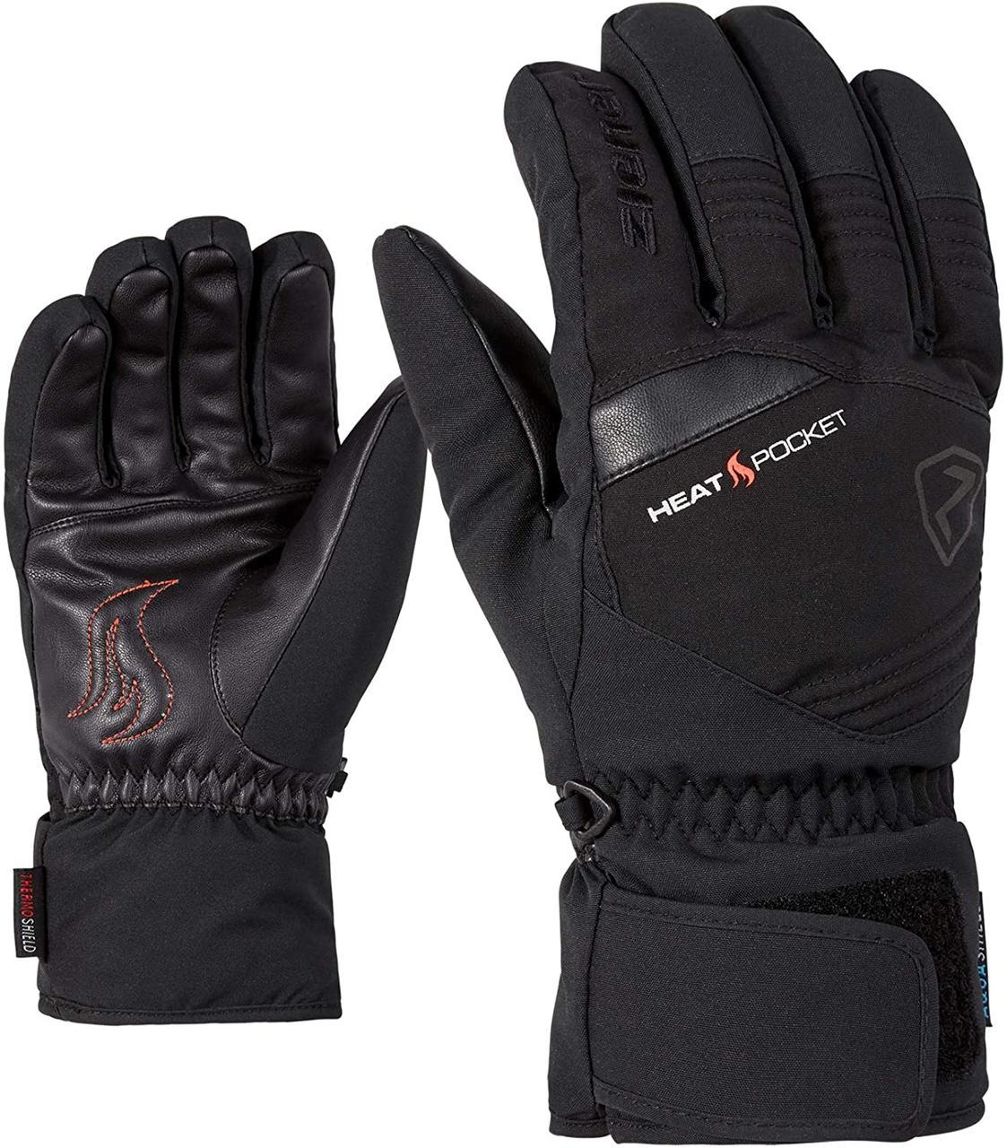Гірськолижні рукавички Ziener Herren Glim AS   розмір 10