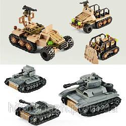 Детский конструктор Военная команда 1061 деталей. Армия
