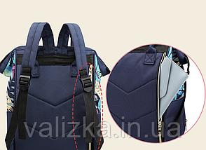 Женский рюкзак черный с термо карманами, фото 3
