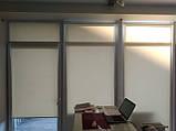 Рулонні штори Luminis. Тканинні ролети Люмінис 52.5, Пісочний 202, фото 3
