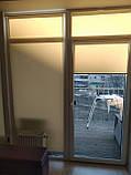 Рулонні штори Luminis. Тканинні ролети Люмінис 52.5, Пісочний 202, фото 4