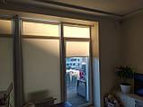 Рулонні штори Luminis. Тканинні ролети Люмінис 52.5, Пісочний 202, фото 5