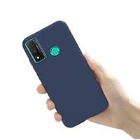 Чехол силиконовый для Huawei P Smart 2020 Blue