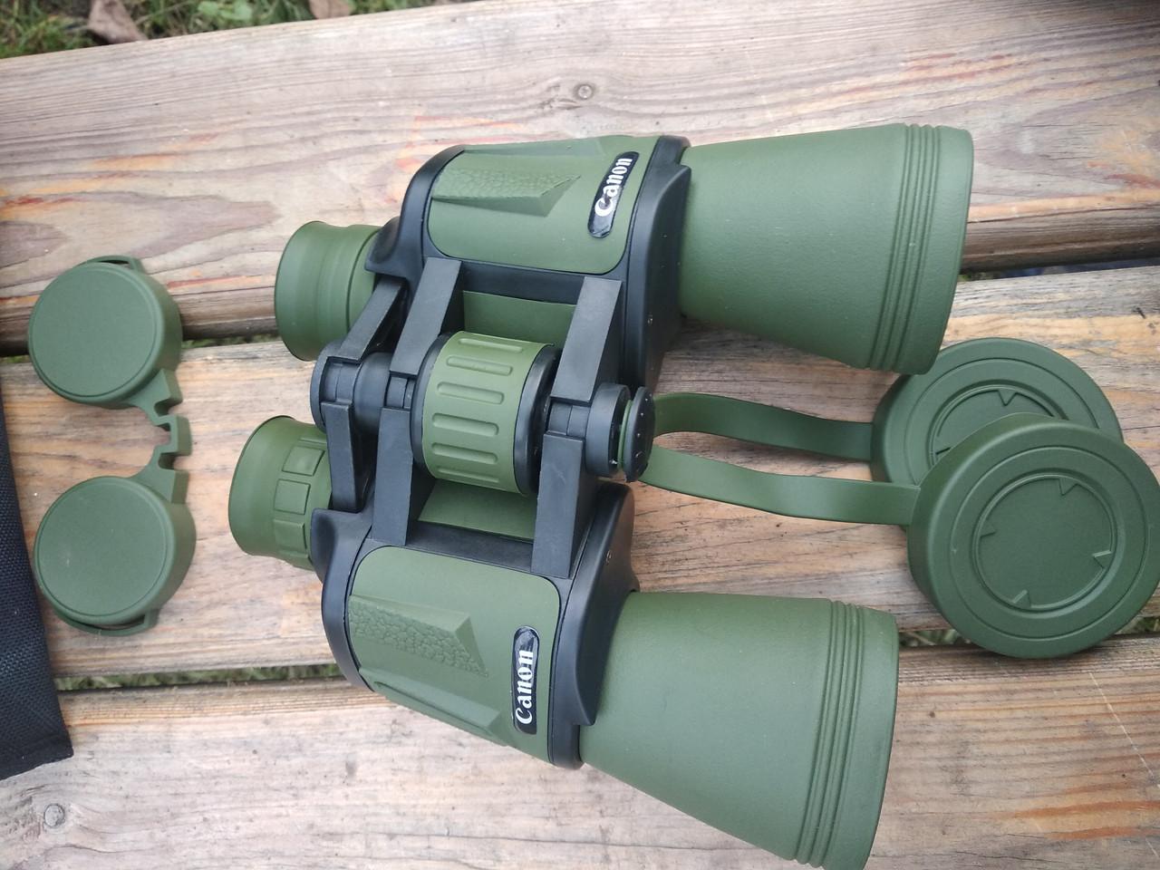 Бинокль Сanon 70х70  Зелёный 56м/1000м