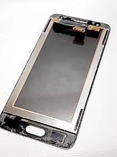 Модульный дисплей золотой Samsung G570F Galaxy J5 Prime сервисный ,оригинал, фото 2