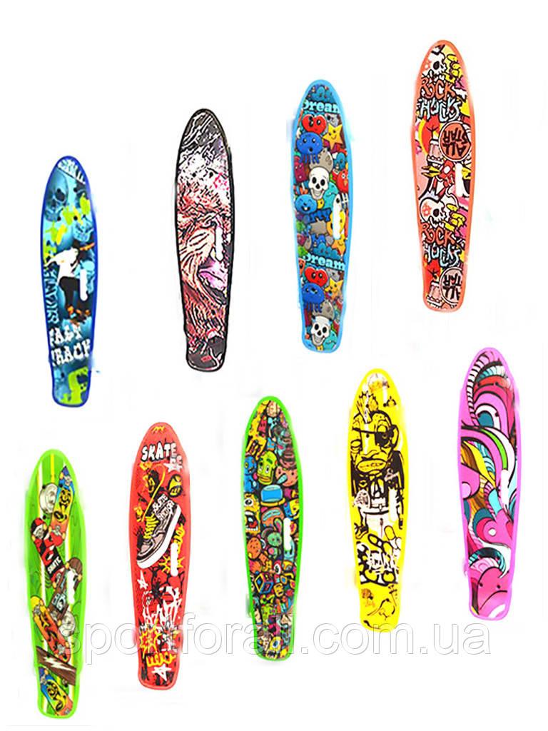 Дека для пенни борда (скейтборда) Profi 0749