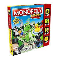 """Настольная игра """"Моя первая монополия"""" Hasbro Junior (5010993355211)"""