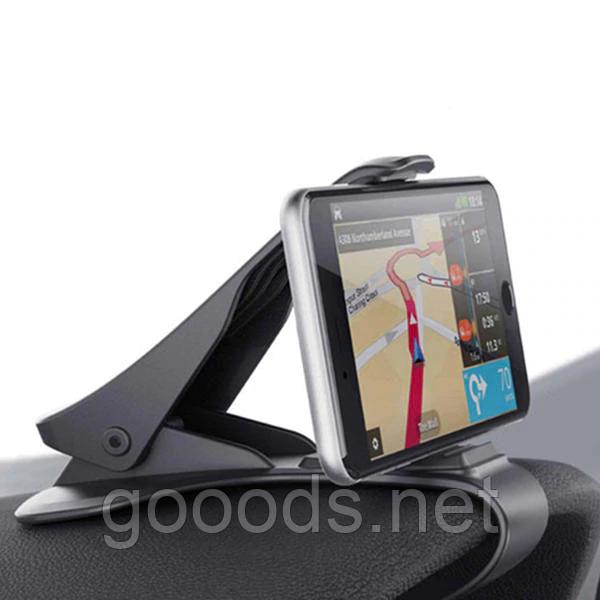 Тримач для смартфона / GPS навігатора в машину на козирок приладової панелі